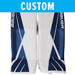 Bauer Pro Custom Supreme Ultrasonic Goalie Leg Pads - Senior