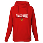 Levelwear Cut Off Frolic Hoodie - Chicago Blackhawks - Womens