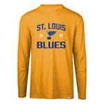Levelwear Fundamental Thrive Long Sleeve Tee Shirt - St. Louis Blues - Adult