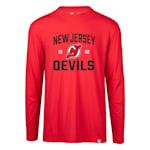 Levelwear Fundamental Thrive Long Sleeve Tee Shirt - New Jersey Devils - Adult
