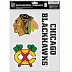 Wincraft Multi-Use Decal Pack - Chicago Blackhawks