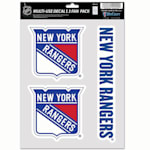 Wincraft Multi-Use Decal Pack - NY Rangers