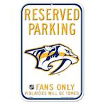 Wincraft NHL Parking Sign - Nashville Predators