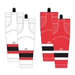 Reebok New Jersey Devils Edge SX100 Hockey Socks - Junior