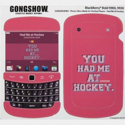 You Had Me At Hockey (Gongshow Blackberry Phone Skin)