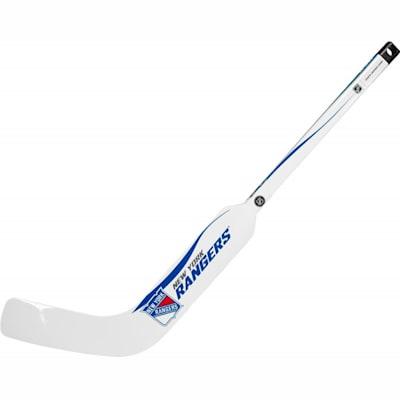 New York Rangers (Sher-Wood White NHL Composite Mini Goalie Stick 2013)