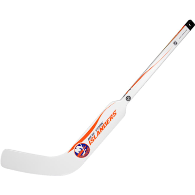 New York Islanders (Sher-Wood White NHL Composite Mini Goalie Stick 2013)
