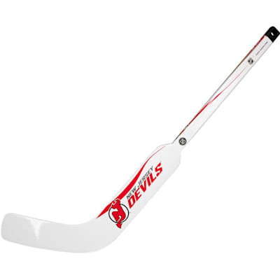 New Jersey Devils (Sher-Wood White NHL Composite Mini Goalie Stick 2013)