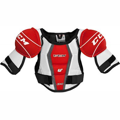 Front View (CCM U + 04 Hockey Shoulder Pads - Youth)