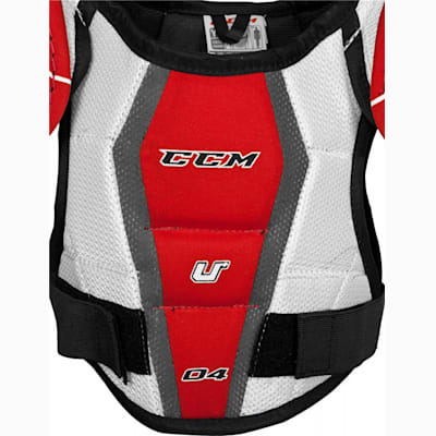 Dual-Layer Foam Adds Great Protection (CCM U + 04 Hockey Shoulder Pads - Youth)