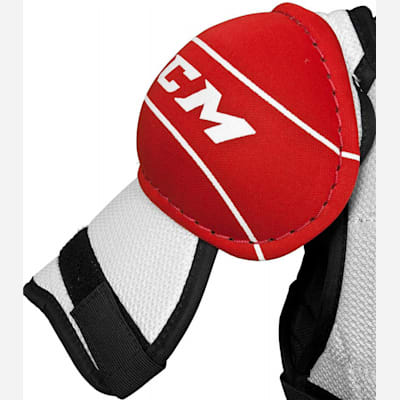 Asymmetrical Foam Gives You A Comfortable Fit (CCM U + 04 Hockey Shoulder Pads - Youth)