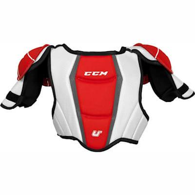 Back View (CCM U + 04 Hockey Shoulder Pads - Youth)