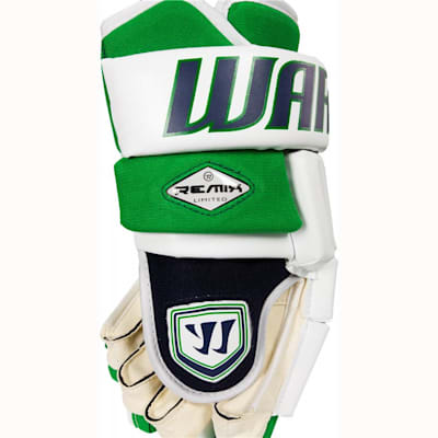 Lightweight Tufftek Material Lines The Outer Shell (Warrior Remix LE Hockey Gloves - Senior)