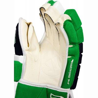 Dual-layered Clarino Authentic Pro Palm (Warrior Remix LE Hockey Gloves - Senior)