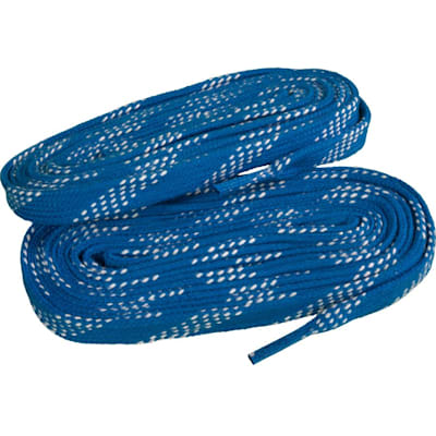Royal/White (Elite Hockey Pro-X7 Molded Tipped Laces)