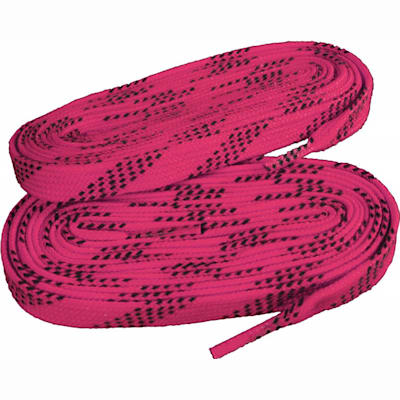 Neon Pink/Navy (Pro X7 Wide Hockey Skate Laces)