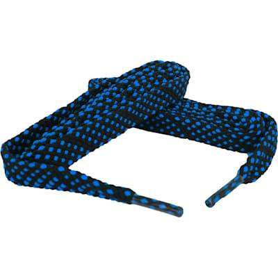 Black/Neon Blue (Bari Boot Laces)