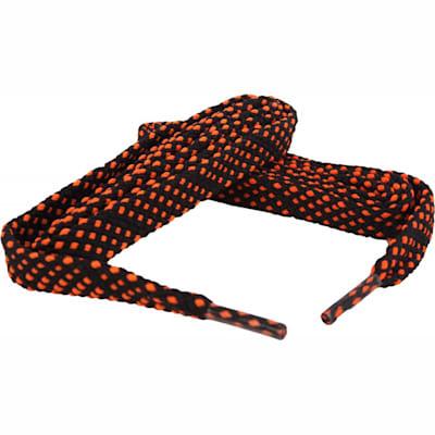 Black/Orange (Bari Boot Laces)