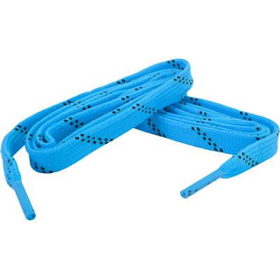 Neon Blue/Black (Bari Boot Laces)