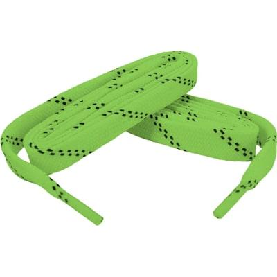 Neon Green/Black (Bari Boot Laces)