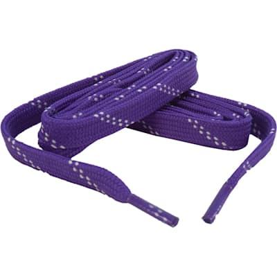 Purple/White (Bari Boot Laces)