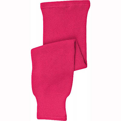 Pink (CCM Knit Hockey Socks - Junior)