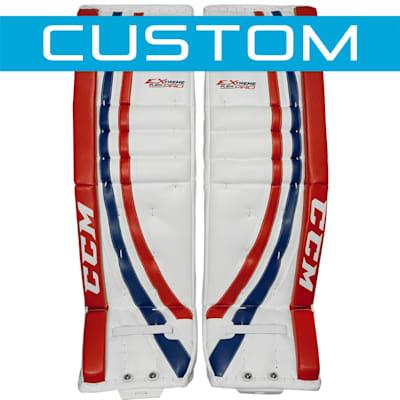 Custom by calling 866.929.6699 (CCM Extreme Flex Pro CUSTOM Goalie Leg Pads - Intermediate)