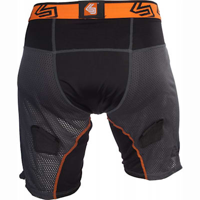 Back View (Ultra Hybrid Hockey Shorts w/ Ultra Carbon Flex Cup - Senior)