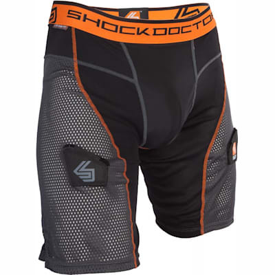 Black/Grey (Ultra Hybrid Hockey Shorts w/ Ultra Carbon Flex Cup - Senior)