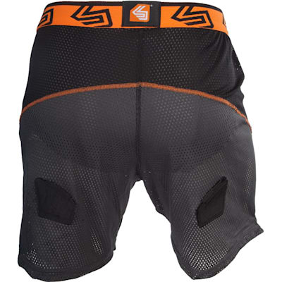 Back View (Ultra Loose Hockey Shorts w/ Ultra Carbon Flex Cup - Senior)