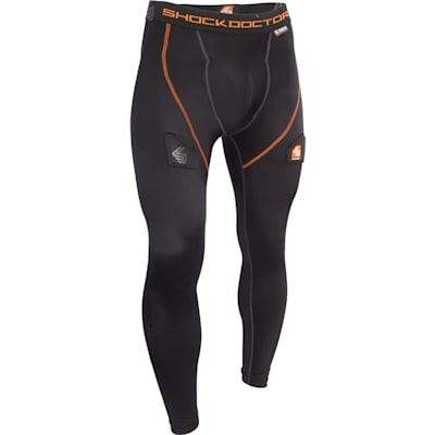Black (Shock Doctor Core Hockey Pants w/ Ultra Carbon Flex Cup - Mens)