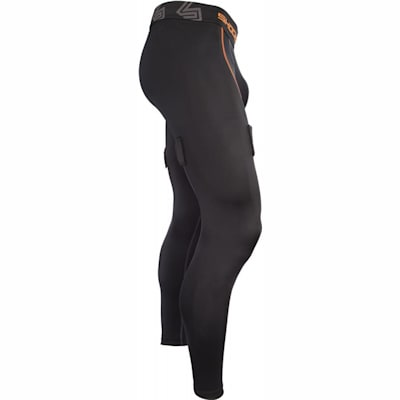 Side View (Shock Doctor Core Hockey Pants w/ Ultra Carbon Flex Cup - Mens)