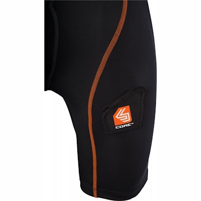 Sock Attachment (Core Compression Hockey Shorts w/ Bio-Flex Cup - Boys)