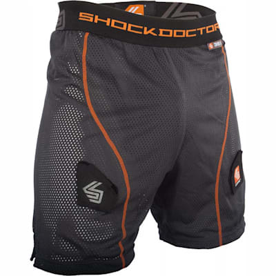 Grey (Shock Doctor Core Loose Hockey Jock w/ Bio-Flex Cup - Mens)