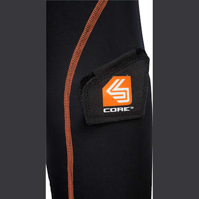 Sock Attachment (Shock Doctor 366 Core Compression Hockey Short - Women - Womens)