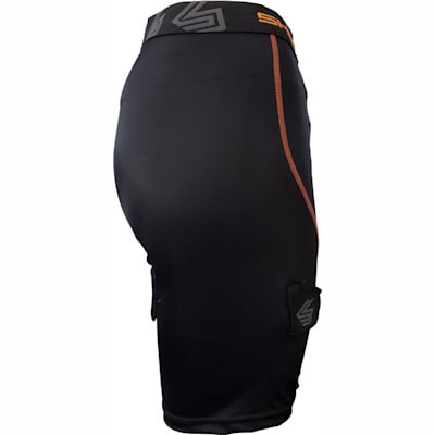 Side View (Shock Doctor 366 Core Compression Hockey Short - Women - Womens)