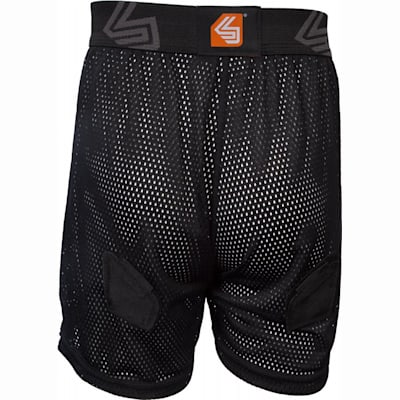 Back View (Shock Doctor 365 Core Loose Hockey Short - Girls - Girls)