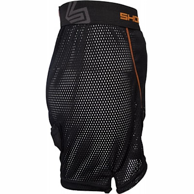 Side View (Shock Doctor 365 Core Loose Hockey Short - Girls - Girls)