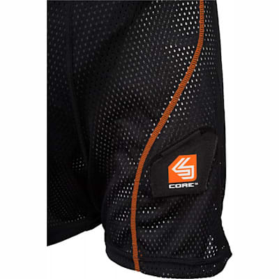 Sock Attachment (Shock Doctor 365 Core Loose Hockey Short - Girls - Girls)