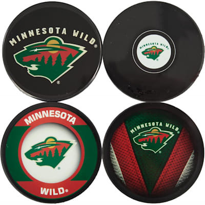 Minnesota Wild (Sher-Wood NHL Team Coasters Pack)