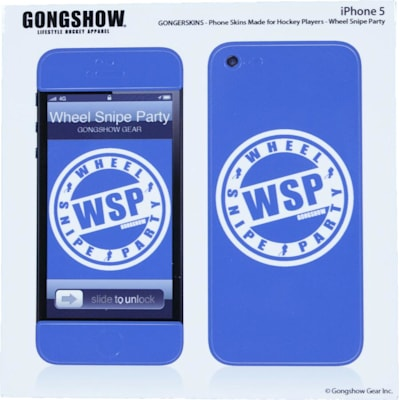 WSP iPhone 5 Skin (Gongshow WSP iPhone 5 Skin)