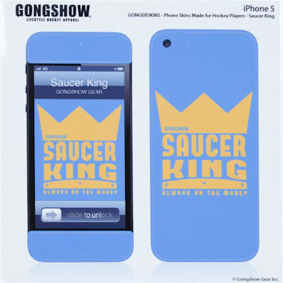 Saucerking iPhone 5 Skin (Gongshow Saucerking iPhone 5 Skin)
