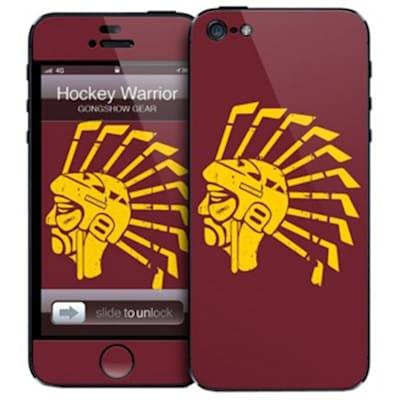 Hockey Warrior iPhone 5 Skin (Gongshow Hockey Warrior iPhone 5 Skin)