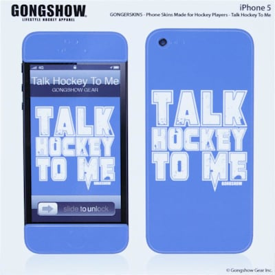 Talk Hockey iPhone 5 Skin (Gongshow Talk Hockey iPhone 5 Skin)