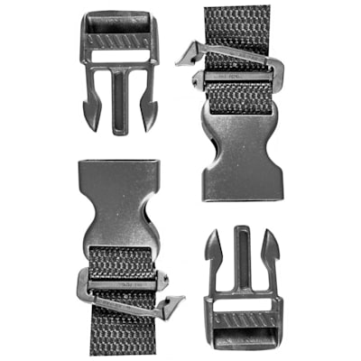 Goalie Plastic Leg Pad Clip Replacement Pair (A&R Goalie Plastic Leg Pad Clip Replacement Pair)