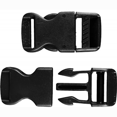 (A&R Goalie Pad Plastic Replacement Clip Pair - 1.5 in)