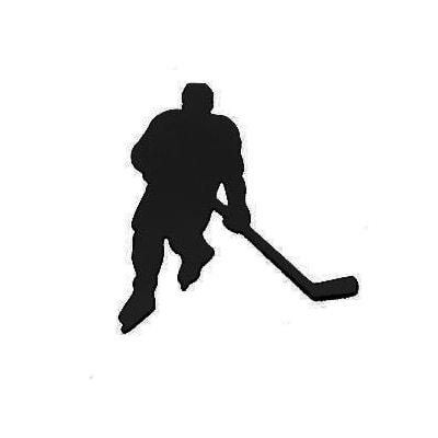 Black (Hockey Car Magnet)