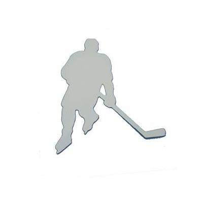 Chrome (Hockey Car Magnet)