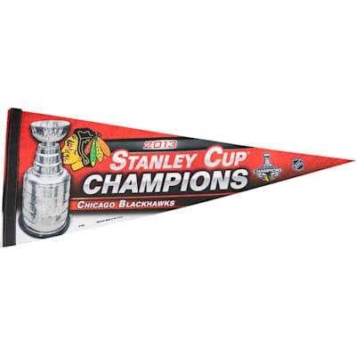 Chicago Blackhawks (2013 Chicago Blackhawks Stanley Cup Champion Premium Banner)