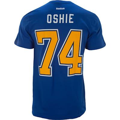 Royal (Reebok St. Louis Blues T.J. Oshie Jersey Tee Shirt - Senior)